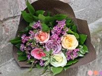 Buchet flori cadou 15