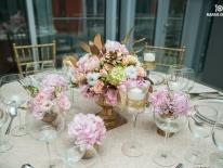 Vaze aurii cu hortensie 02