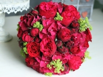 Buchet nasa trandafiri rosii 03