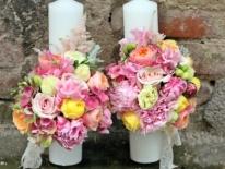 lumanari nunta scurte 27 cm