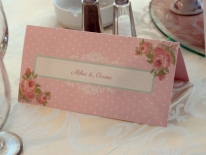 Placecard romantic