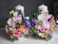 Lumanari nunta scurte