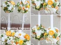 Lumanari nunta hortensie