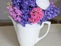 Ceainic cu flori