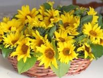 Aranjament flori naturale 02