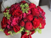 Buchet nasa trandafiri rosii 02