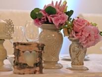 Ceramica cu flori