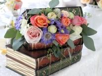 Cutie carti cu flori 01