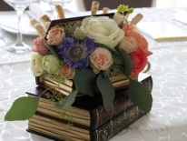 Cutie carti cu flori 02